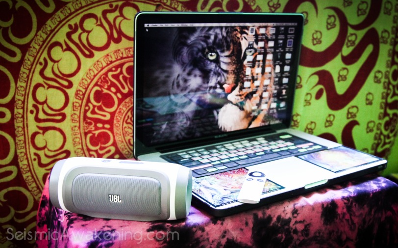 Our Laptops combined with the portable jbl Charge have become our New Age Micro Entertainment Center when it comes to watching Movies or Shows.